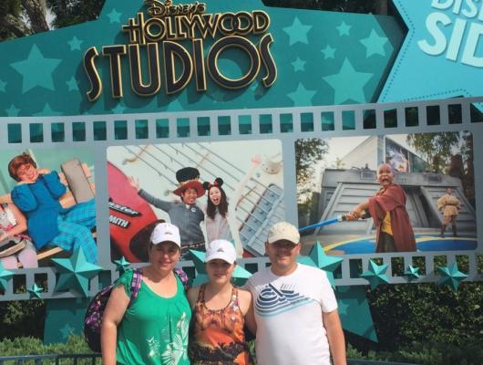 Angelita, Daniel e Leticia Casagrande / Disney -Orlando