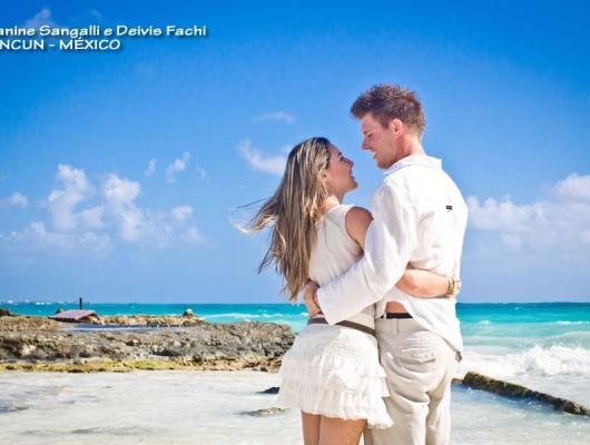 Jeanine e Deivis / Cancun