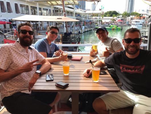 Ivan Kamimura e Adriano Aguiar /  Miami - EUA