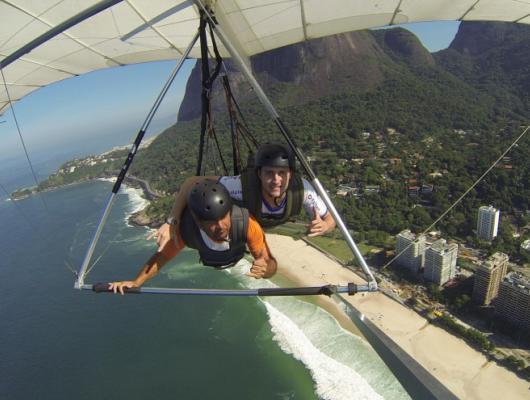 Carlos Spanhol Filho / Asa Delta no Rio de Janeiro - RJ
