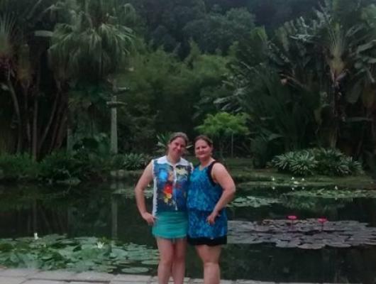 Daiane Cristianetti e Cleia Peruzzo / Rio de Janeiro - RJ