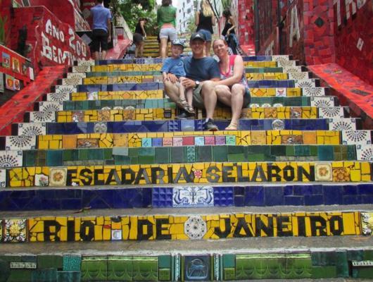 Renata, Delcio e Leonardo Bavaresco / Rio de Janeiro - RJ