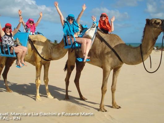 Raquel, Marcia, Lia e Rozane / Natal - RN