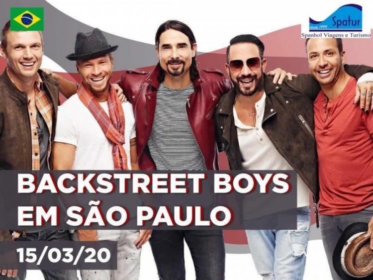 Turne Pelo Brasil Backstreet Boys Em Sp 2
