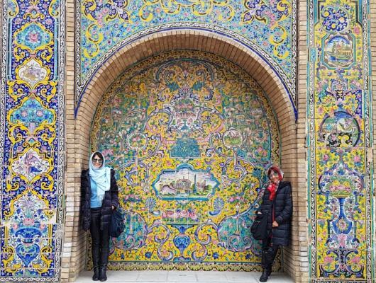 Irene e Valderez - Irã