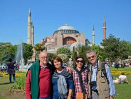 Domingos e Helenita Boaretto / Fatima e Mauro Farina = Grecia e Turquia