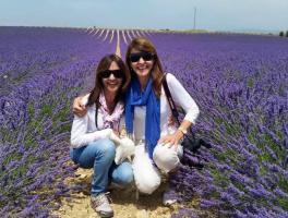 Valderez e Irene Anzanello / Moustiers Sainte Marie