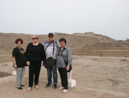 Vanderlei, Maria do Carmo, Neiva e Isabel / Lima - Peru