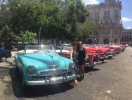 Tania e Verônica de Carvalho - Havana / Cuba
