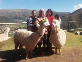Ledani Pocai e Cleia Peruzzo / Cusco - Peru