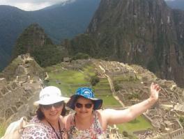 Ledani Pocai e Cleia Peruzzo / Machu Picchu - Peru