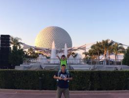 Daniel e Laura Tressino - Disney /Orlando