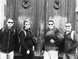 Juliano, Angela, Maiara e Elias / Itália