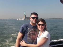 Tatiane Guadagnin e Alex Zanin - New York e Miami