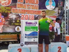 Renato Rossato - WORLD MUAY THAI CHAMPIONSHIP / Bangkok