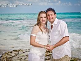 Diana e Augusto / Cancun