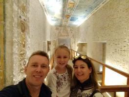 Lucio, Lorenza e Keli Miotto - Egito