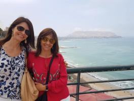 Irene e Valderez Anzanello - Lima / Peru