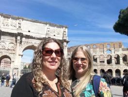 Margot Moretto e Mônica Moretto - Tour Itália
