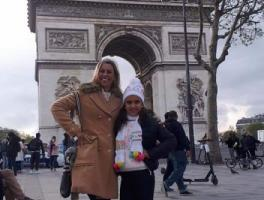 Maria Luiza e Cláudia / Paris
