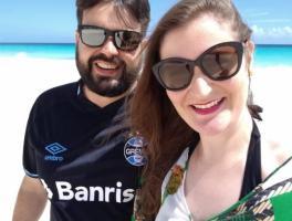 Micael Menin e Barbara Ulsenheimer / Punta Cana