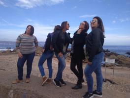 Ana Paula, Gabriela, Paloma, Andiara e Alexandra / Chile