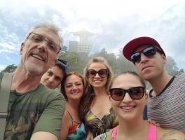 Claudino, Simone, Daiana, Anibal, Brigite e Giancarlo / Rio de Janeiro - RJ