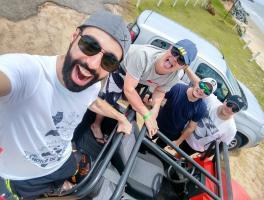 Tiago, Rafael, Rafael e Lucas / Porto Seguro - BA