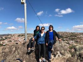 Francisca Rigo, Beatriz Benetti e Maria Mazzarolo - Diamantina/MG
