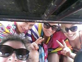Michele, Elizabete, Maria e Dalva - Maceió/AL