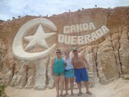 Leticia, Angelita e Daniel Casagrande / Canoa Quebrada - CE