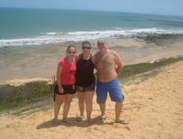 Leticia, Angelita e Daniel Casagrande / Lagoinha - CE