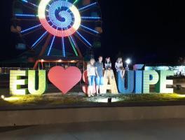 Mônica, Cristiano, Bianca e Antônia - Costa do Sauípe